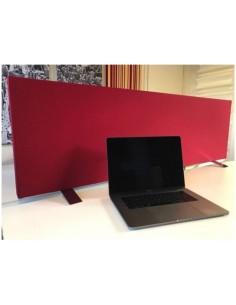 Divisorio per scrivania 180x42x5 cm. no aggancio